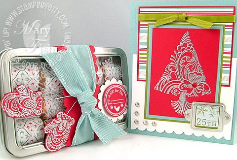 Stampin up scandinavian season nugget set