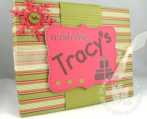 Stampin up holiday extravaganza tracy's box