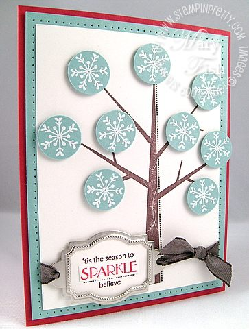 Stampin up season of friendship sparkle