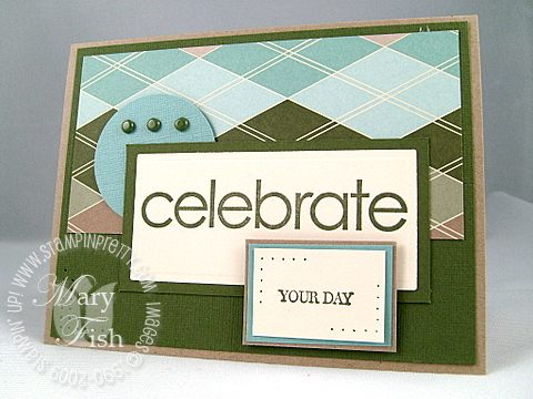 Stampin up celebrate everything