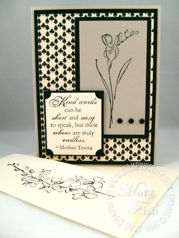 Stampin up echoes of kindness