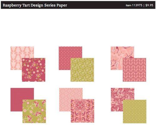 Raspberry tart designer series
