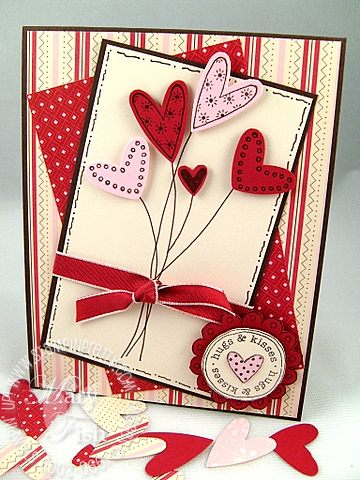 Stampin up heart to heart punch love you much