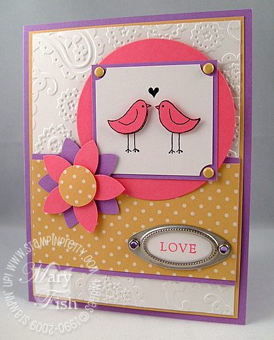 Stampin up love you much promotion