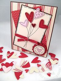 Stampin up heart to heart confetti