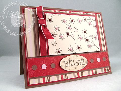 Stampin up sweet stems mojo 1