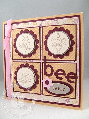 Stampin up just buzzing by