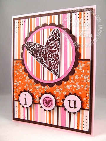 Stampin up a happy heart mojo monday