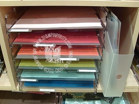 Stampin up stamping storage and organization 4
