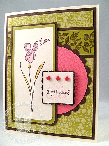 Stampin up echoes of kindness mojo 70