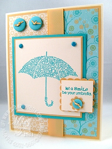 Stampin up font of you mojo monday 71