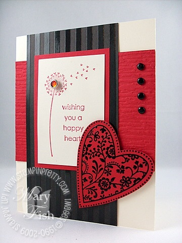 Stampin up always happy heart