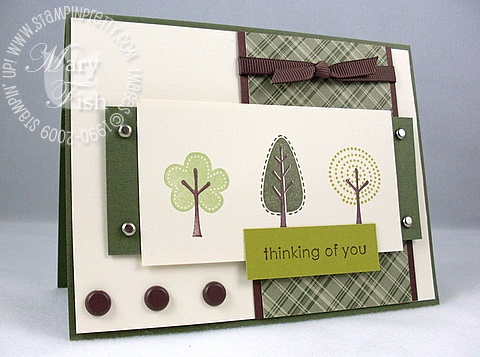 Stampin up trendy trees manchester