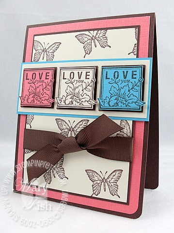 Stampin up dreams du jour