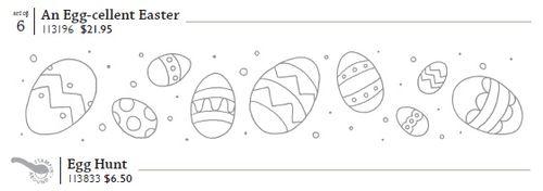 Egg hunt wheel