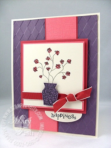Stampin up font of you mojo monday 74