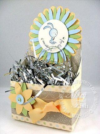 Stampin up salebration box animal crackers