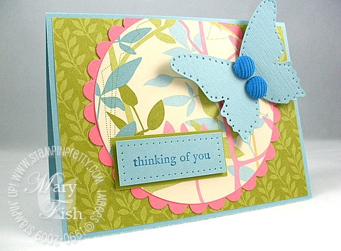 Stampin up walk in the park