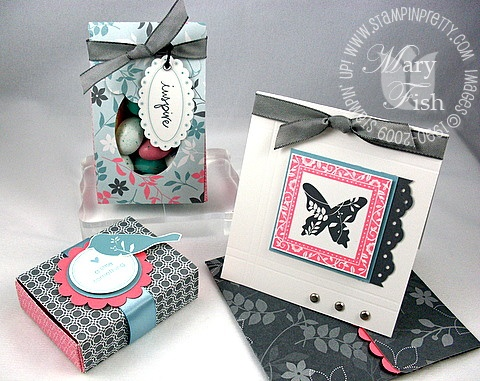 Stampin up walk in the park trio