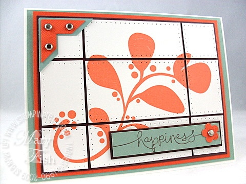 Stampin up organic outlines beate