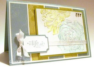 Stampin up Life is Beautiful