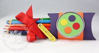 Stampin up biz pillow die pencils
