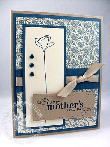 Stampin up bella bleu embrace life