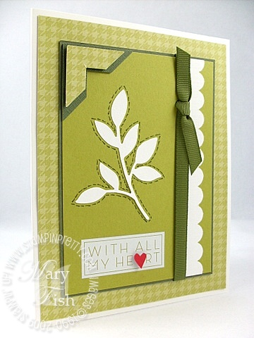 Stampin up little leaves sizzlits die