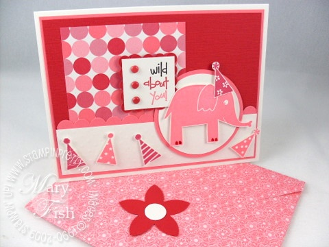 Stampin up wild about you birthday card