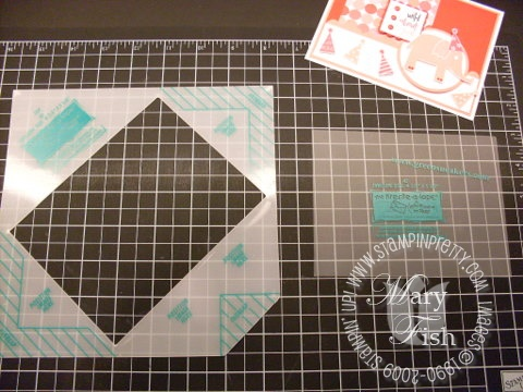 Stampin up envelope template 1