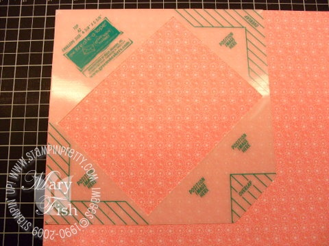 Stampin up envelope template 2
