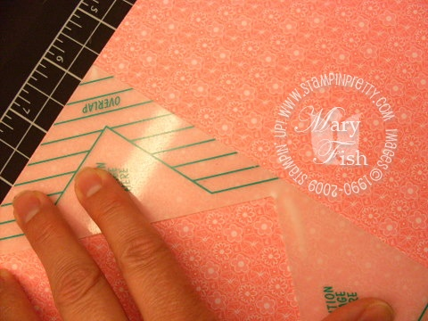 Stampin up envelope template 3