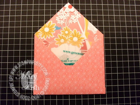 Stampin up envelope 7