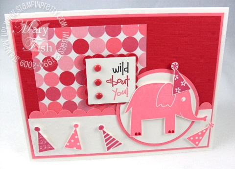 Stampin up wild about you birthday card 4
