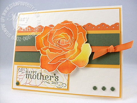 Stampin up fifth avenue floral mothers day