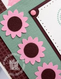 Stampin up trendy trees bohoblossoms punch