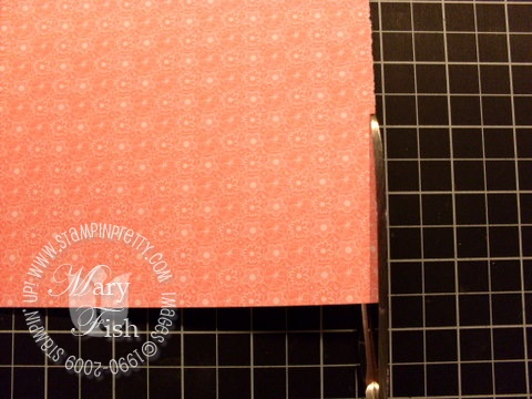 Stampin up envelope template 4