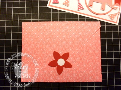 Stampin up envelope 8