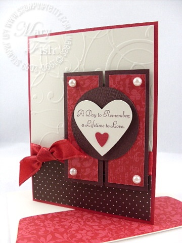 Stampin up very versatile wedding card mojo monday 88