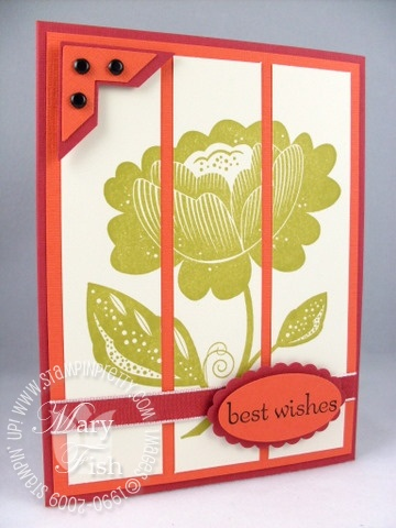 Stampin up bella blossoms
