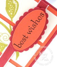Stampin up scallop oval punch