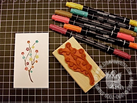 Stampin up in color markers