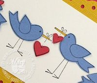 Stampin up more the merrier birds