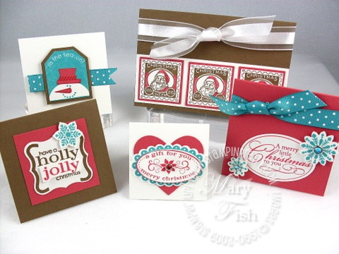 Stampin up christmas punch group