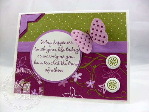 Stampin up herb expressions mojo monday 97