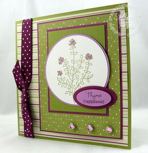 Stampin up herb expressions mojo monday 98 large