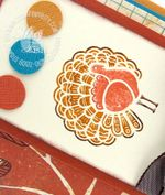 Stampin up gobble gobble turkey splitcoast stampers