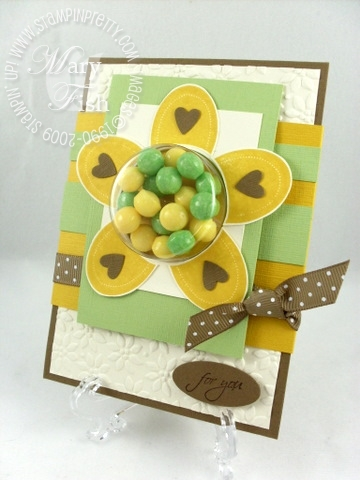 Stampin up mojo monday gift certificate sweet centers