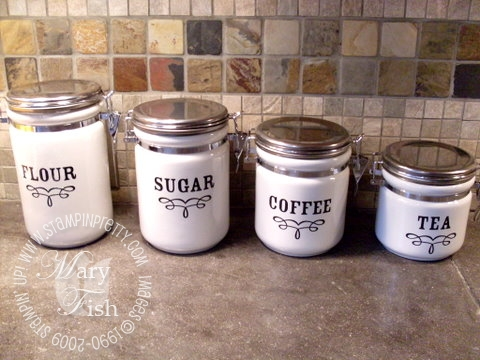 Stampin up decor elements dry goods