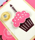 Stampin up party hearty mojo monday cupcake